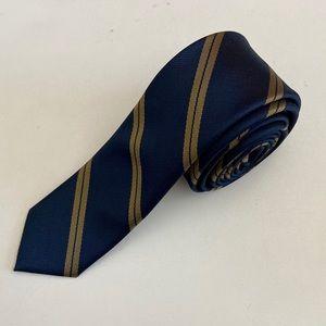 Other - NEW Handmade Blue & Gold Necktie